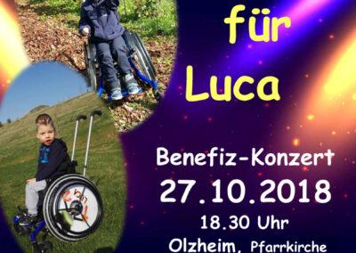 Benefiz-Konzert – Unser Lied für Luca